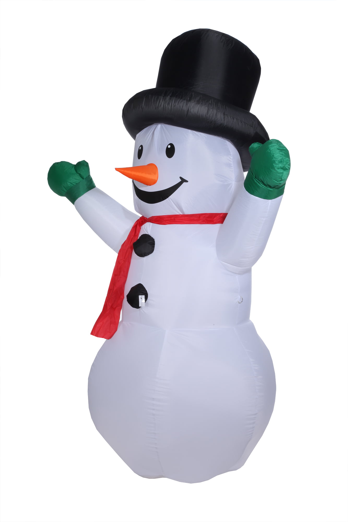 Homegear 8 ft Christmas Inflatable Snowman Air Blown Yard Decoration ...