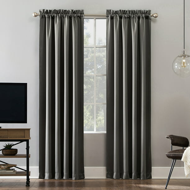 Sun Zero Malmo Extreme 100% Blackout Rod Pocket Curtain