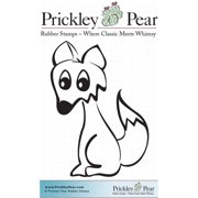 "Prickley Pear Cling Stamps 1.5""X1""-Fox"