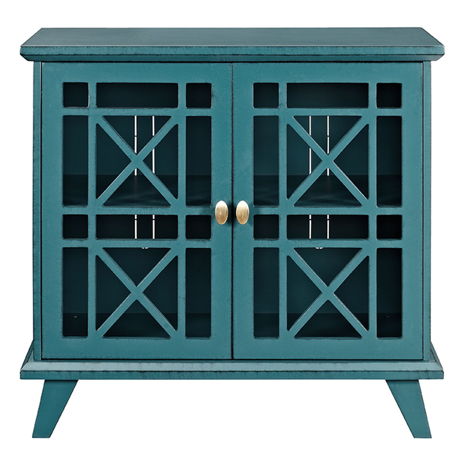 Walker Edison Gwen Fretwork Accent Console