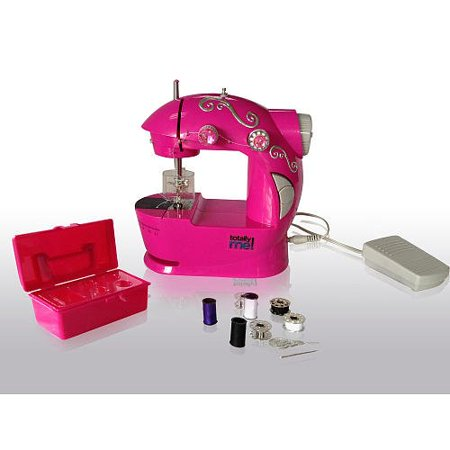 Totally Me Pink Bling Sewing Machine And Kit Walmart Cool Made By Me Sewing Machine