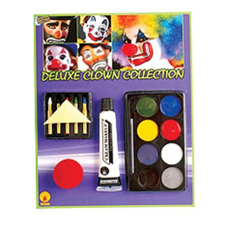 Deluxe Clown Collection-Makeup Rubies 19247](Freaky Clown Makeup)