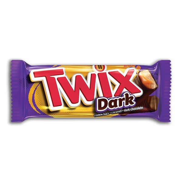 Twix Dark Chocolate Candy Bar, 1.79 Oz