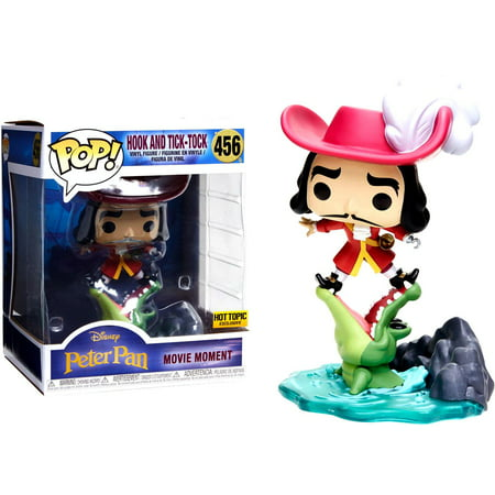 Funko POP! Disney Hook & Tick Tock Vinyl Figure [Movie Moments, Disney Treasures Villain Box] - Disney Female Villians