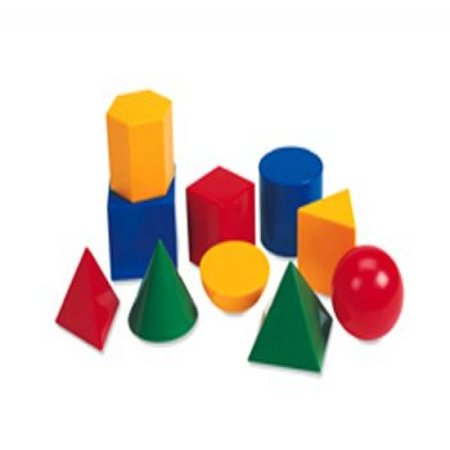 Large Shapes (Large Geometric Shapes 10/Pk 3D )