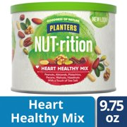 Planters NUT-rition Heart Healthy Mixed Nuts with Walnuts and Hazelnuts, 9.75 oz Can