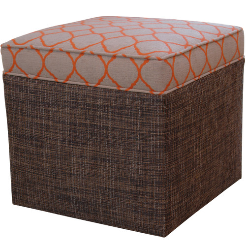 Somers Furniture New American Ottomans with Cushion