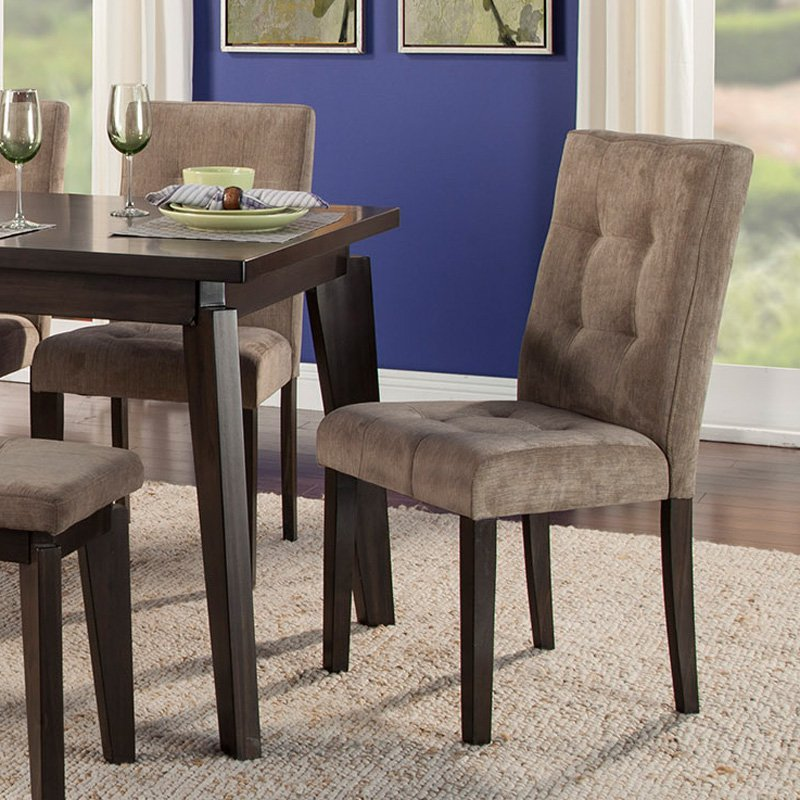 Alpine Furniture Uptown Parson Dining Chair - Set of 2