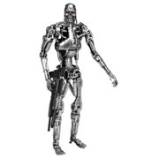 "- The Terminator - 7"" Action Figure – T-800 Endoskeleton, Based on the classic Terminator film franchise By NECA"