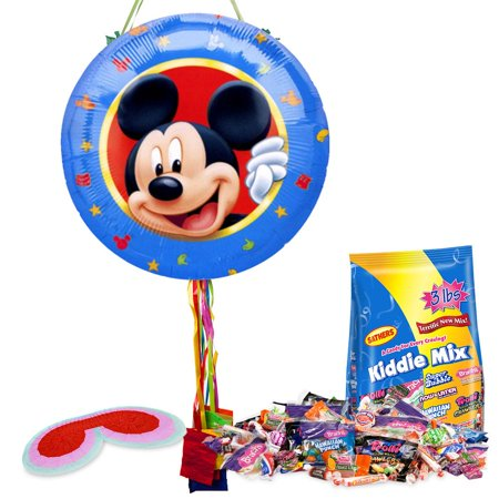 Mickey Mouse Pull String Pinata Kit - Party Supplies