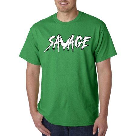 006f28dcded1f New Way - 788 - Unisex T-Shirt Savage Maverick Logang Logan Paul 2XL Kelly  Green - Walmart.com