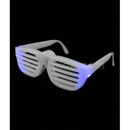 Led Rock Star Slotted Shades   Multicolor