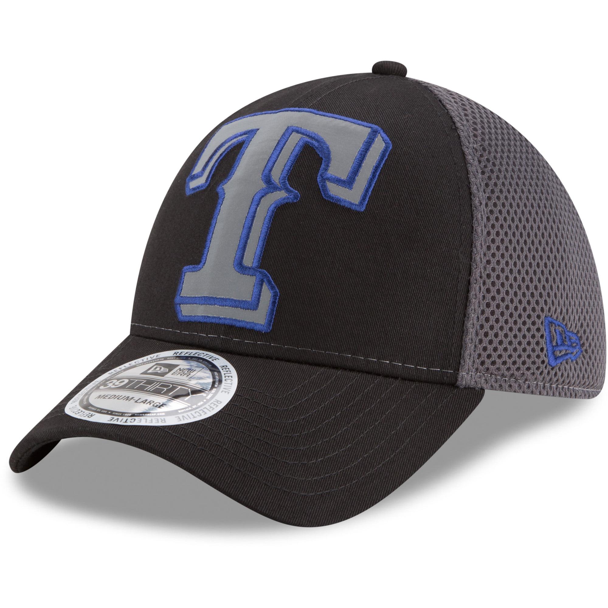 Texas Rangers New Era Megaflect 39THIRTY Flex Hat - Black