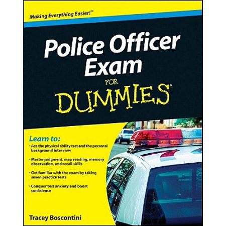 Police Officer Exam for Dummies - Gift Ideas For Police Officers