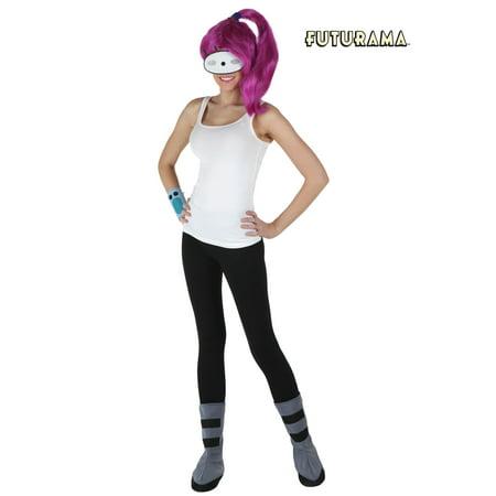 Fry Costume Futurama (Womens Futurama Leela Costume)