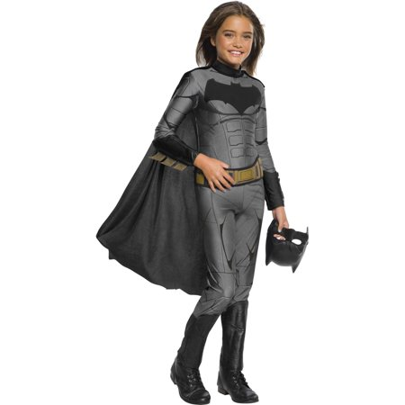 Justice League Girls Batman Jumpsuit Halloween Costume (Best Batman Costume For Sale)