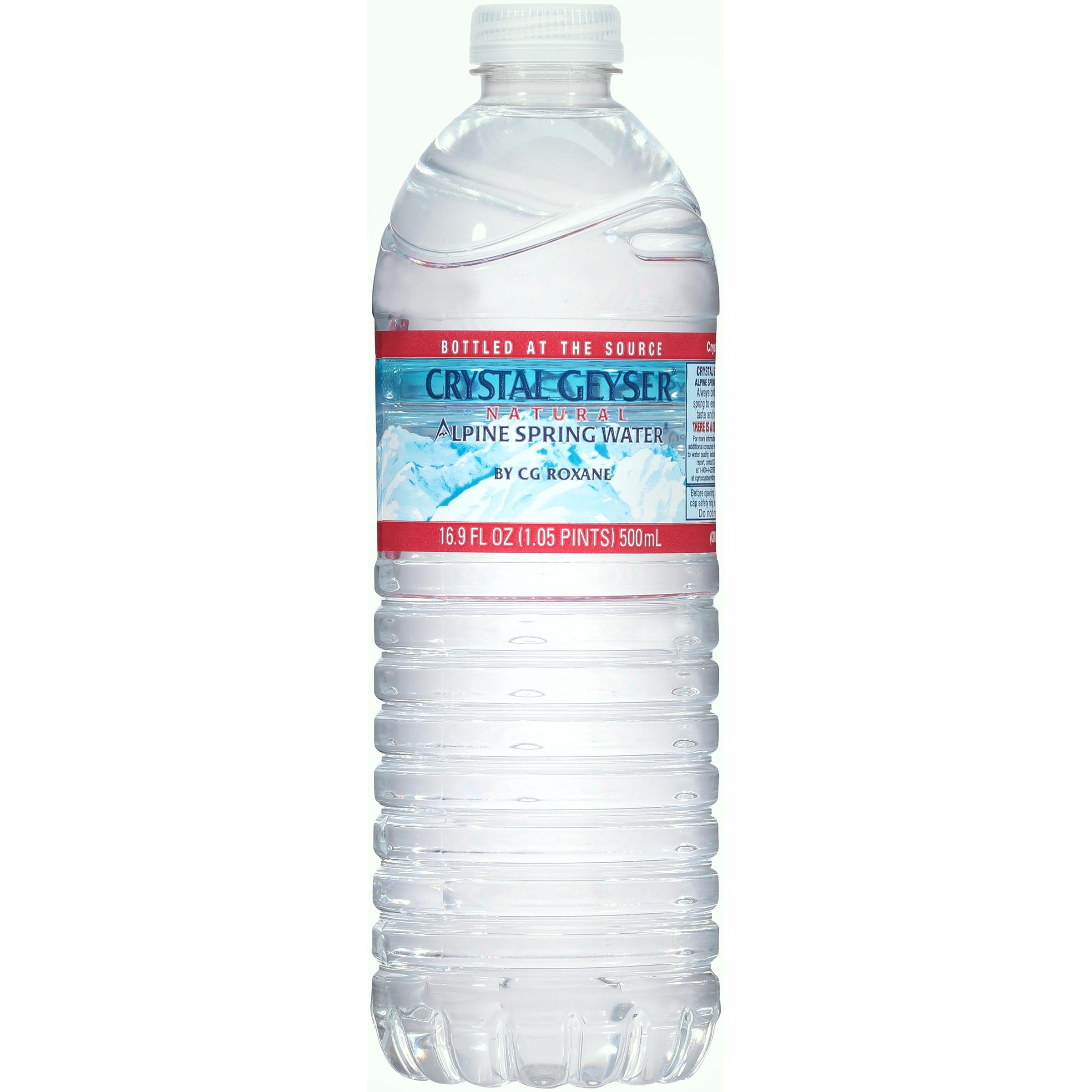 Crystal Geyser® Natural Alpine Spring Water® 16.9 fl oz. ...