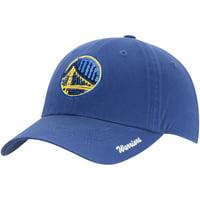 Women's Royal Golden State Warriors Sparkle Adjustable Hat - OSFA