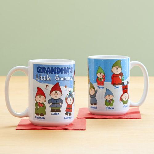 Personalized Little Gnomies 15 oz Coffee Mug