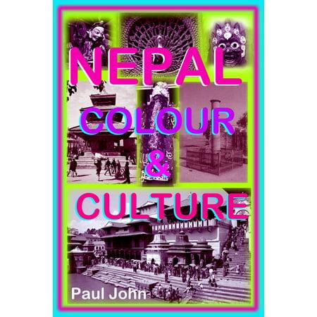 Nepal Colour & Culture - - 1929 Colour Map