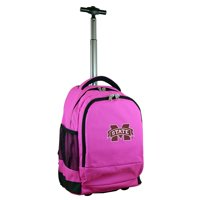 Mississippi State Bulldogs 19'' Premium Wheeled Backpack - Black