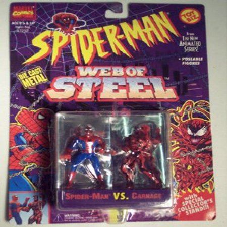 Spiderman Web Of Steel Die Cast Metal Collectible Figures - Spiderman vs