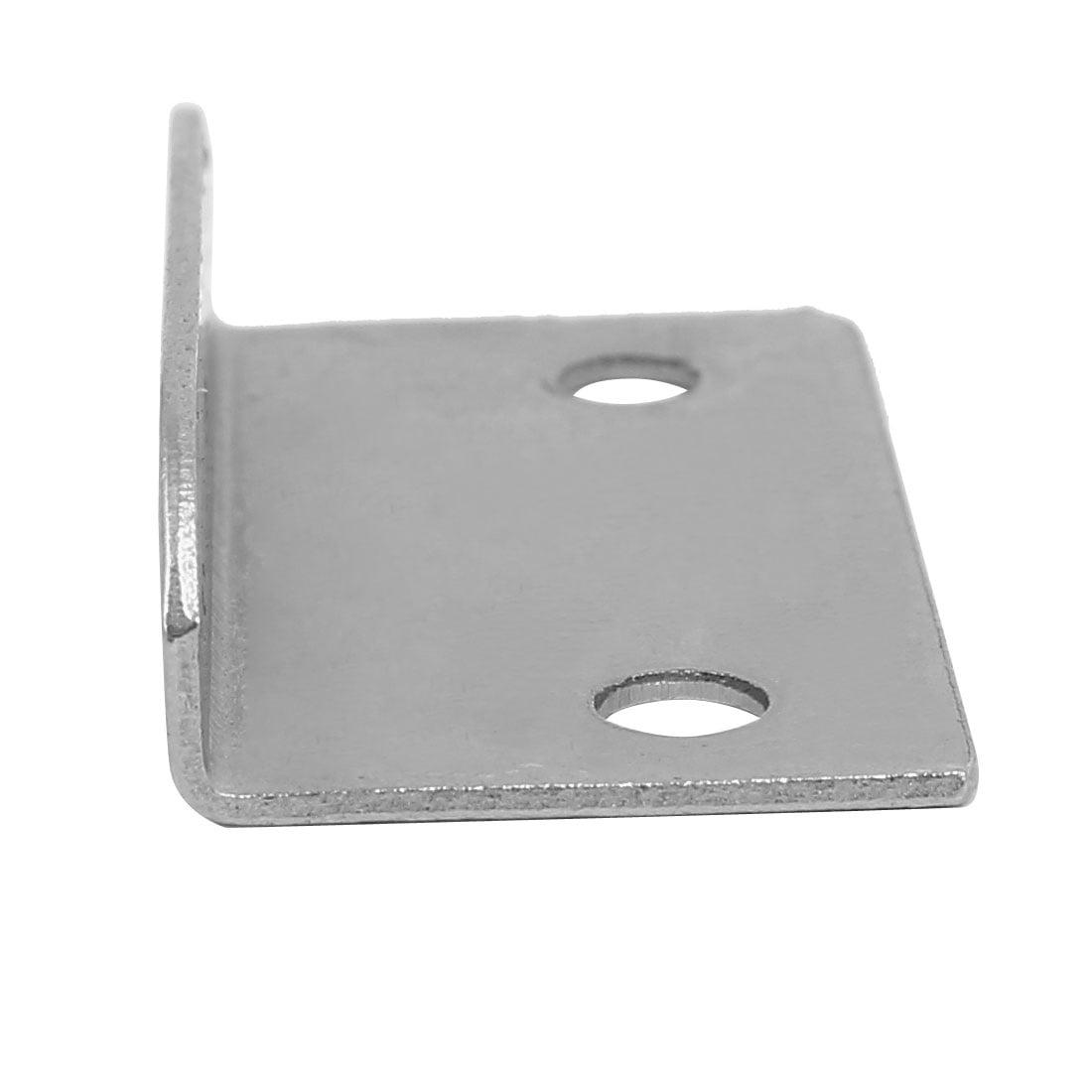 Home Office Cabinet Drawer Metal Lock Strike Plates 39mm Length 30PCS - image 1 de 3