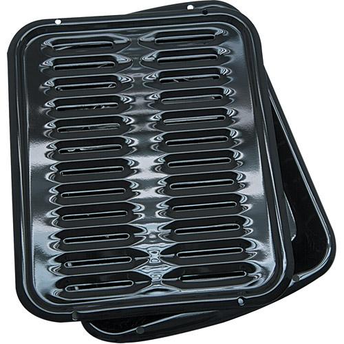 Range Kleen Porcelain Stick-Free  Broiler Pan
