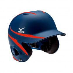 Mizuno Mvp Two Tone Batters Helmet Navy Red