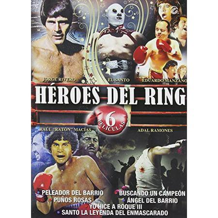Heroes Del Ring - 6 Peliculas (DVD) - Peliculas Del Dia De Halloween
