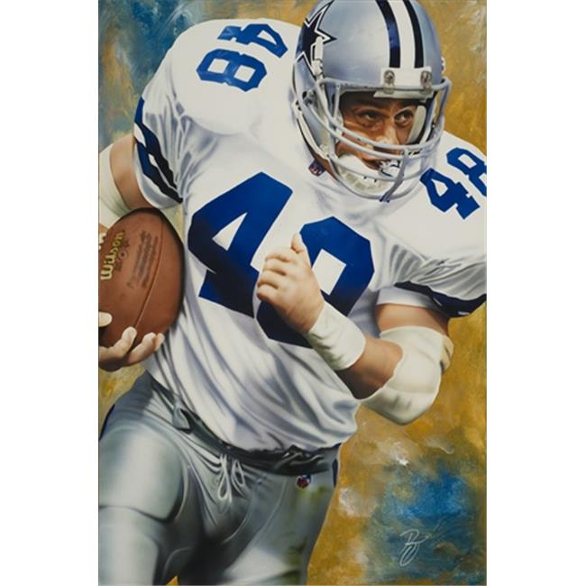Deacon Jones Foundation RJ-02R Moose Art Print, by Rob Jackson - Rolled