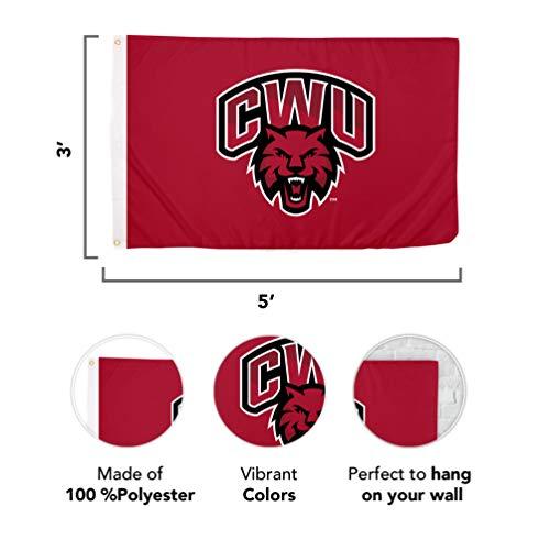 Palm Beach Atlantic University NCAA 100/% Polyester Indoor Outdoor 3 feet x 5 feet Flag Style 1