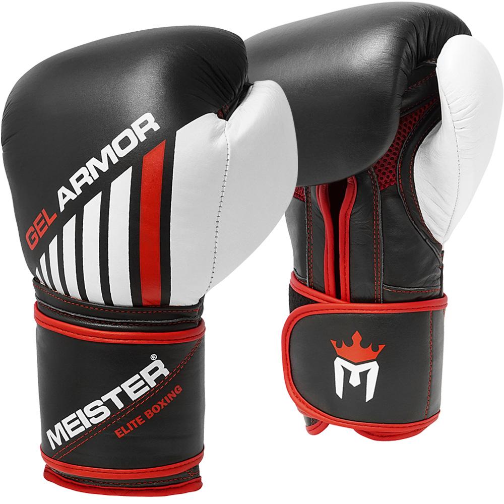 Meister Gel Armor 16oz Training Boxing Gloves w/ Full Grain ...
