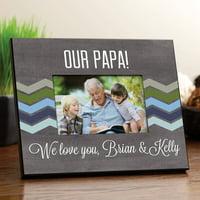 For Grandpa Personalized Picture Frame