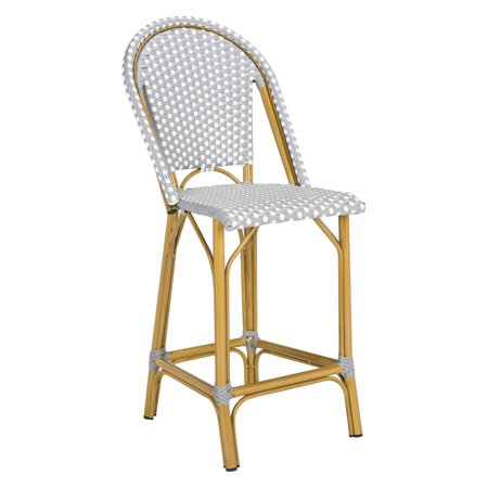 Safavieh Gresley Indoor Outdoor Stacking French Bistro Counter Stool
