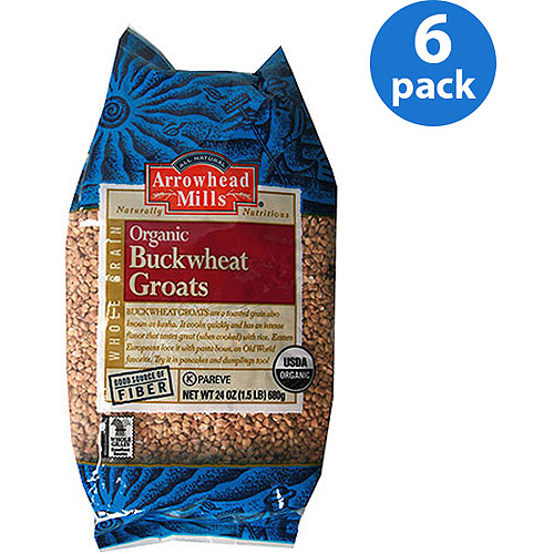 Arrowhead Mills Organic Buckwheat Groats, 24 oz (Pack of 6)