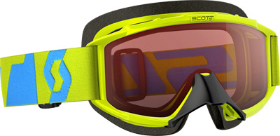 SCOTT 89SI Youth Snocross Goggles Blue Green W Amp Rose Lens 240531-1413108 by
