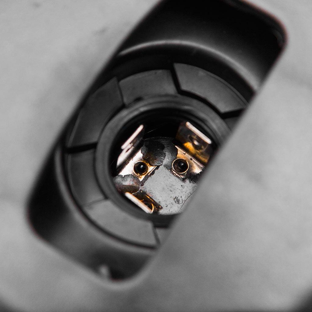 Krator 7.75'' Chrome Headlight H4 Bulb Round Lamp for Harley Davidson Screamin Eagle - image 4 of 6