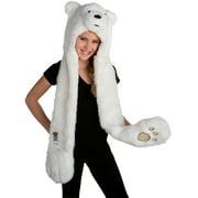 We Bare Bears Ice Bear Hood Costume Accessory