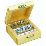 Proxxon 29020 Router Bit Set- 10 pcs.- in wooden box