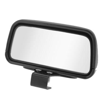 Unique Bargains Universal Vehicle Truck Car Screw Mounting Rear View Blind Spot Mirror Black