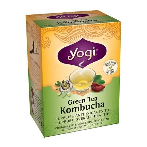 Green Tea With Kombucha Yogi Teas 16 Bag