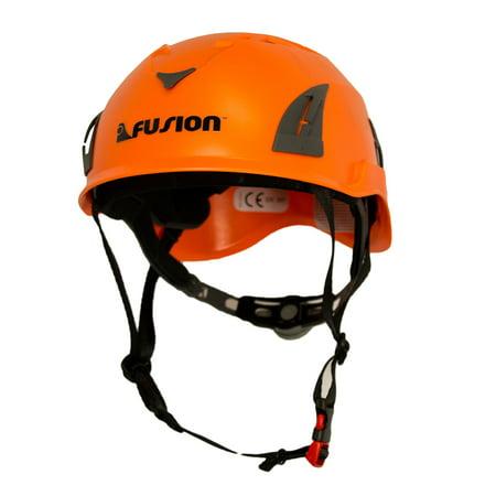 Fusion Climb Meka II Climbing Bungee Zipline Mountain Construction Safety Protection Helmet (Grivel Climbing Helmet)