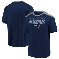 Men's Fanatics Branded Navy/Silver New England Patriots Tactical Stunt T-Shirt