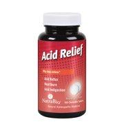 Natrabio Acid Relief Tablets, Berry, Chewable, 100 Count