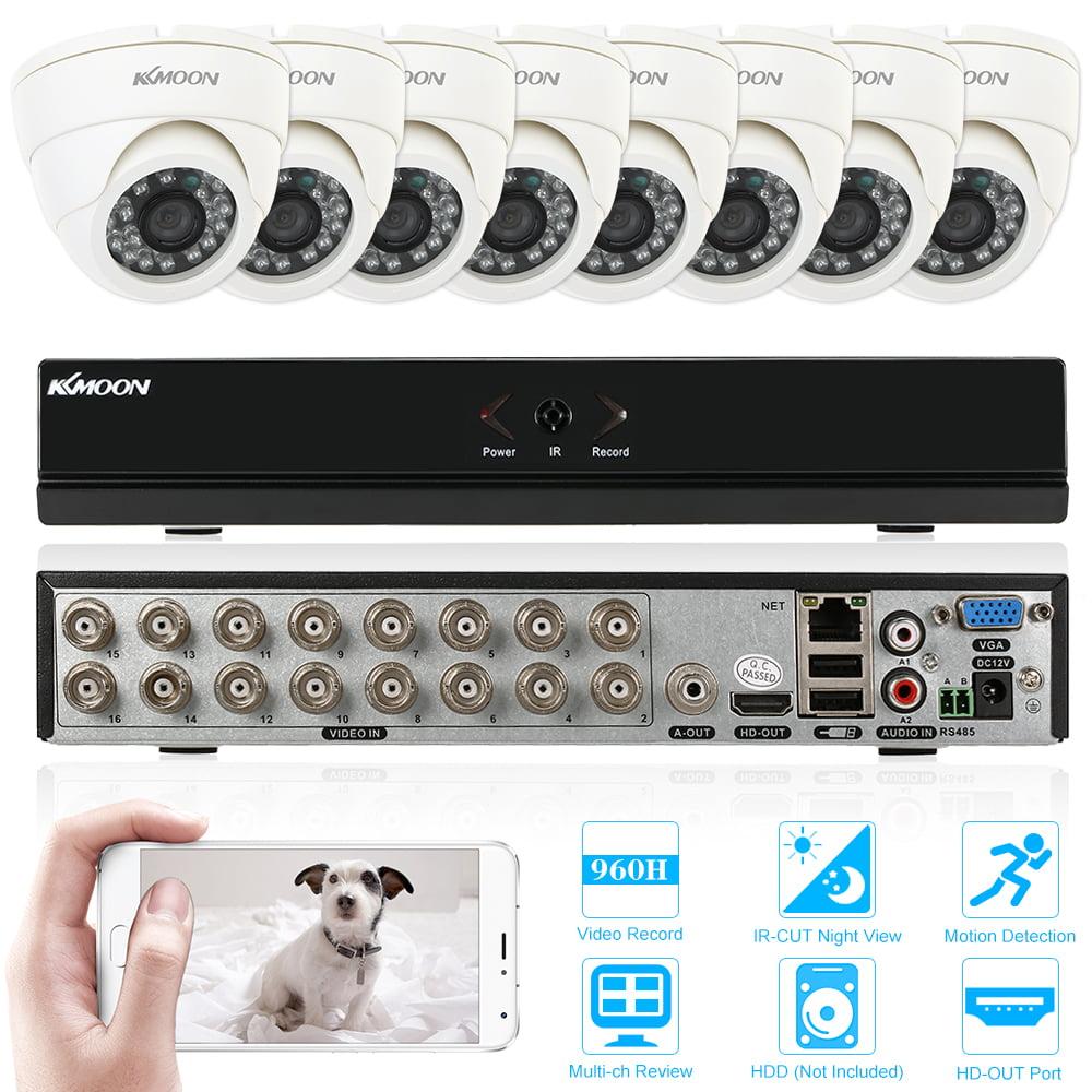 Anself KKmoon 16-Channel Full 960H/D1 Surveillance DVR Se...
