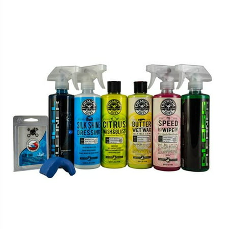 Chemical Guys HOL124 Car Care Kit (7 Items), 16 fl. oz, 7 Pack