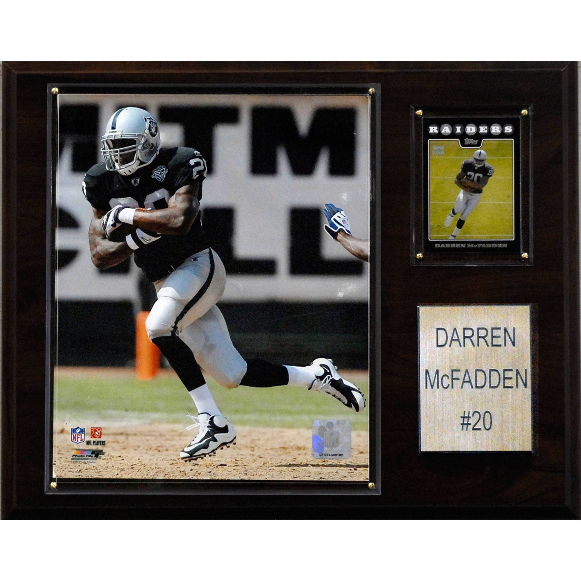 C&I Collectables NFL 12x15 Darren McFadden Oakland Raiders Player Plaque