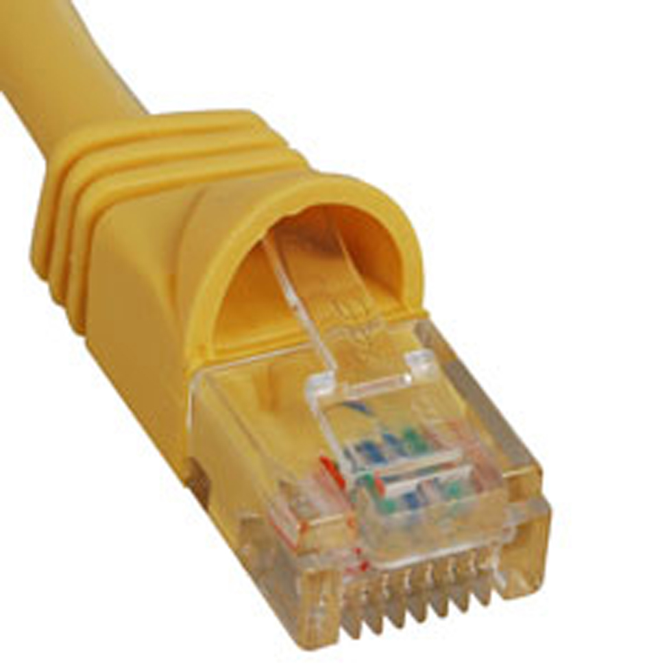 PATCH CORD- CAT 5e- MOLDED BOOT- 10'