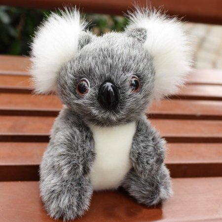 Cute Stuffed Simulation Koala Zoo Animals Gift Koala Toy Children Doll 20cm GY